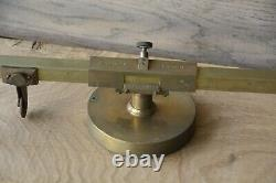Antique Reynolds Eidograph Map Instrument Pantograph in Original Mahogany Box