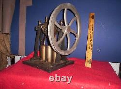 Antique Sorensen co 3 cyl pully drive Air Pump