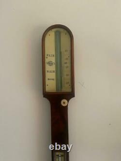 Antique Stick Barometer Style of Negretti & Zambra Circa 1900