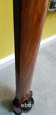 Antique Style Bow Front Wall Hanging Stick Barometer