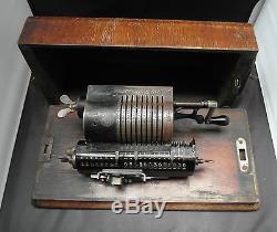 Antique Trinks Brunsviga Pin Wheel Adding Machine