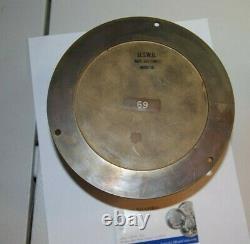 Antique U. S. Weather Bureau G101 Barometer Abt 6 Inches Heavy Rare Piece