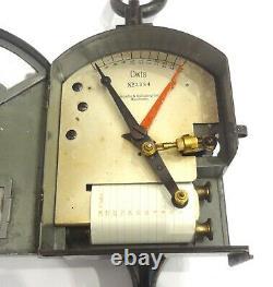 Antique Very Rare Schaeffer Budenberg Railroad Dynamometer Clockwork Recording