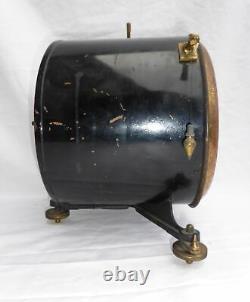 Antique Victorian Gas Meter Gauge Alex Wright & Co XL Steampunk