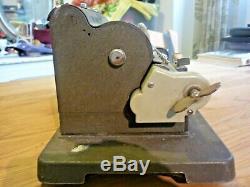 Antique Vintage Britannic Muldivo Pinwheel Calculator Adding Machine Number 22