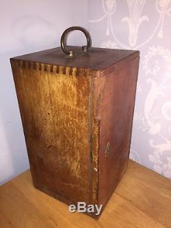 Antique Vintage E Lietz Wetzlar Brass Microscope (sorry UK Bidders Only)