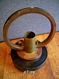 Antique W&J George Brass & Bakelite Magnetometer/Compass Scientific Instrument