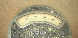 Antique Whitney Electrical Instrument Co Industrial Gauge Gage Watt Hour Meter