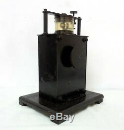 Antique XIX Century Superb Quality French Lab Wind Up Motor Engine Clockwork See