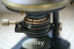 Antique Zeiss microscope