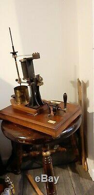 Antique mercury interrupter Radiguet x ray Ruhmkorff coil scientifique radio tsf