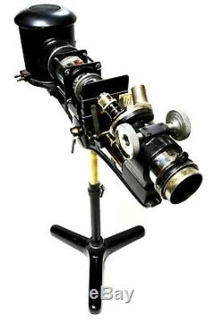 Antique projection microscope, Flatters & Garnett, 1930s