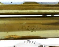 Antique surveyors level theodolite. Ottway of London. Superb tripod included