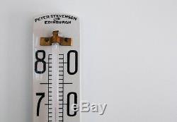 Art Deco Ceramic Wine Cellar Thermometer By Peter Stevenson Ltd Of Edinburgh