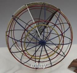 Astronomy Celestial Sphere Lines of Latitude & Longitude C1950 Rare