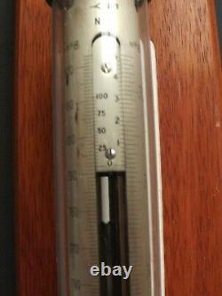 Barometer Fortin Barometer Darton No 716 Brass Tube Meteorology