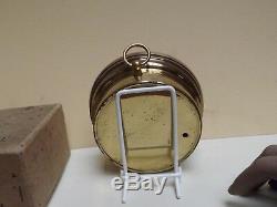 Barometer T. Wheeler Brass Working Aneroid Barometer C1930