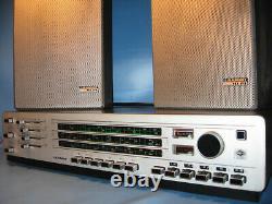 Blaupunkt HI-FI Anlage Din 45500 mit Boxen 1960. Jahre mit Funktion-Old Technics