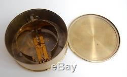 Bourdon & Richard Aneroid Barometer On Stand Retailed By Eg Wood 74 Cheapside