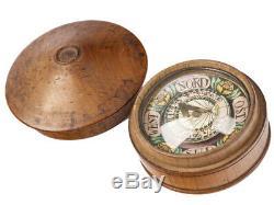 C1790 German Pocket Compass and Gnomon Sundial