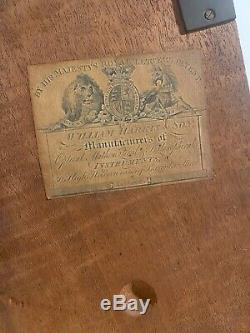 C1810/20 Brass Culpeper microscope by William Harris & Co High Holborn London