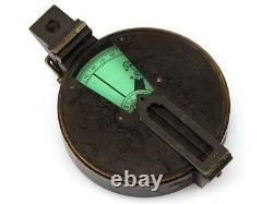 C1875 Pocket Prismatic Compass by J Hicks London