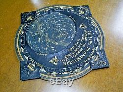 C1890 Antique Victorian Philips Planisphere/star Map Navigator Made In Germany