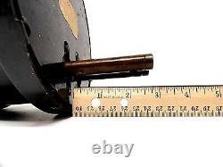 C1901 WESTON ELECTRIC DC Amperes Meter Model 24 Steam Punk