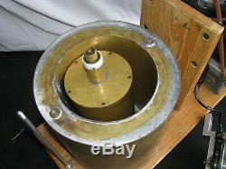 C1920s JOULES MECHANICAL EQUIVALENT of HEAT APPARATUS Calorimeter ANTIQUE