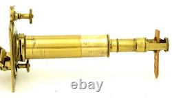 C. 18th Lincoln large solar brass microscope (c. 1775)