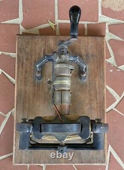 C. 1930 Vintage Miller-Cowan Dynamo Electric Machine, Conditional Issue