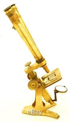 C. 19th Pillischer binocular Microscope (C. 1865)