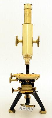 C. 19th Watson Edimburgh Microscope (C. 1895)