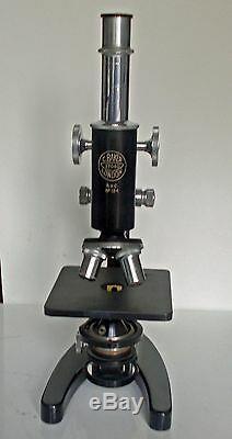 C. Baker Monocular Microscope