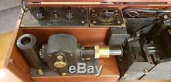 Cambridge Instrument Co. Simpli-Trol Electrocardiograph-Stethograph. Very Nice