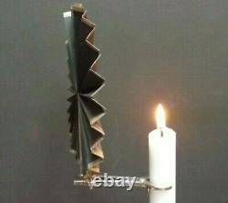 Candle Fan Microscope Shagreen Case Silver Fan 1756 Peter Archambo I