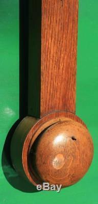 Chadburn Brothers Sheffield & Liverpool Antique Stick Barometer