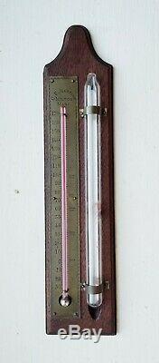 Civil War Era Meteorology Storm Glass & Atmospheric Charles Martine Boston