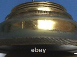 DAVY LAMP Stephenson Rare Example Gilt & Lacquered Brass Museum Quality