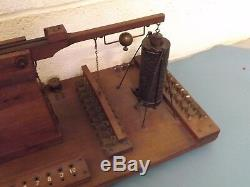 Displacement Switches Physics Rare Balance Museum Quality C1890