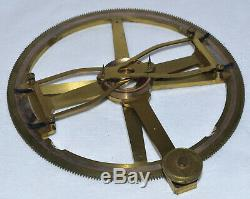 Double arm protractor in case Bate, London