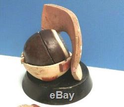 EYE Model Eye C1870 Plaster & Papier Mache Eye Hand Painted Rare