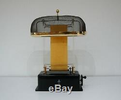 Early Demonstration Van Der Graaff Generator By Physica