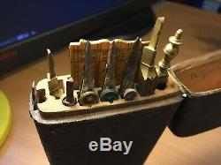 Early Drawing Instruments In Shagreen Case (etui)