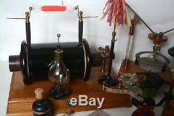 Early antique electric motors and electrostatic collection Part 1