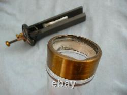 Early electric wet Poggendorf grenet cell battery flaschenbatterie late 19th c