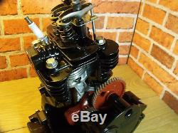 Engine Sectioned, Cut Away, 4 stroke, Stationary Engine, Display Engine. OHV