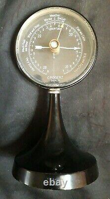 Exquisite CP GOERZ Berlin Art Deco Barometer Rare Working. AR Baines Harrogate
