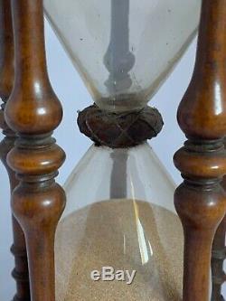 Extremely Rare Hourglass Sablier Sanduhr Reloj de arena 17th Century