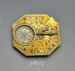 Fine Butterfield Sundial By Henry Macquart Circa 1700